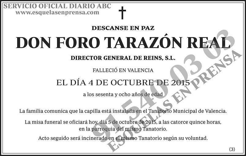 Foro Tarazón Real